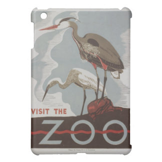 Vintage Visit the Zoo iPad Mini Covers