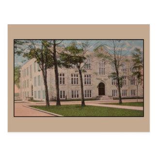 Vintage Vocational School, Appleton, Wis. Postcard