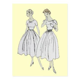 Vintage Vogue Postcard