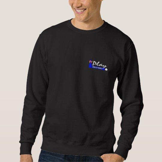 Vintage Volleyball Dark Sweatshirt