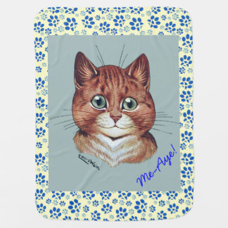 Vintage Wain Cats Scottish Independence Blanket