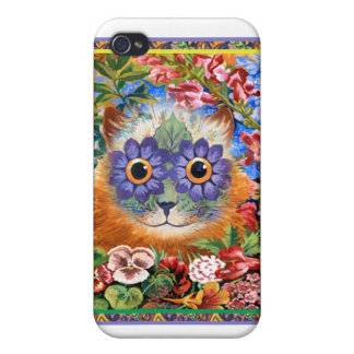 Vintage Wain Funky Flower iPhone Case Cases For iPhone 4