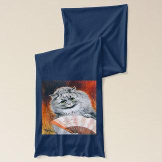 Vintage Wain Opera Cats Art Scarf
