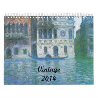Vintage Wall Calendars