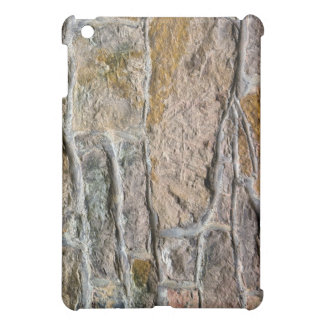 Vintage Wall of Bricks and Mortar Case iPad Mini Covers