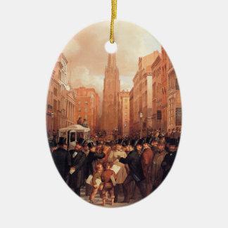 Vintage Wall Street Half Past Two Christmas Tree Ornament