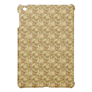 Vintage wallpaper beige pattern case for the iPad mini