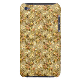 Vintage wallpaper beige pattern iPod touch Case-Mate case