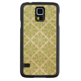 Vintage wallpaper carved maple galaxy s5 case