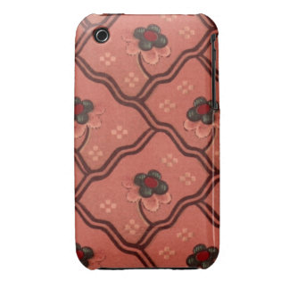 Vintage Wallpaper Case-Mate iPhone 3 Cases