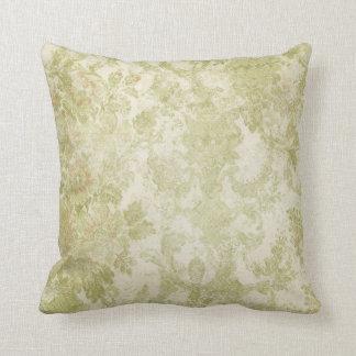 Vintage Wallpaper Throw Pillow