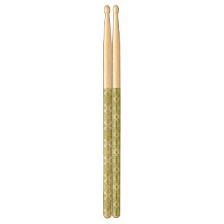 Vintage wallpaper drumsticks