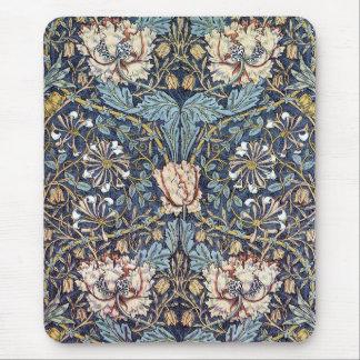 Vintage Wallpaper Flowers and Vines Mousepad