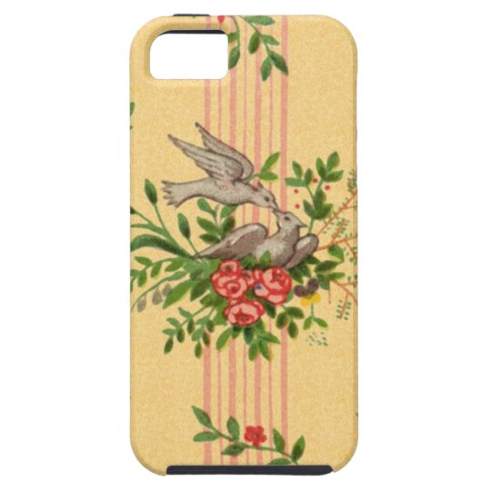 Vintage Wallpaper iPhone 5 Cases