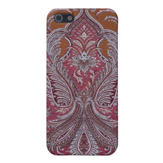 Vintage Wallpaper Wine Copper Case iPhone 4 Cases For iPhone 5