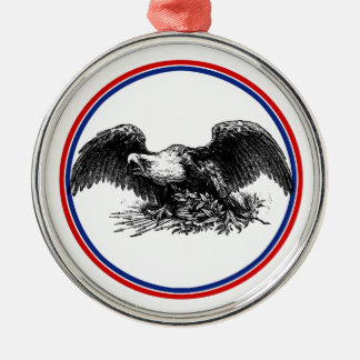 Vintage War Eagle Christmas Ornament