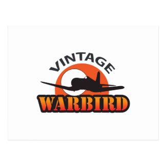 VINTAGE WARBIRD POSTCARD