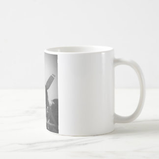 Vintage warplane coffee mug