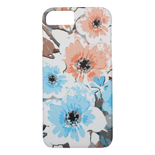 Vintage Watercolor Floral Pattern #19 iPhone 8/7 Case