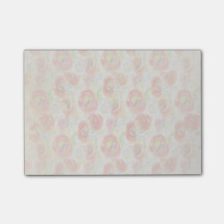 Vintage Watercolor Poppies Post-it Notes