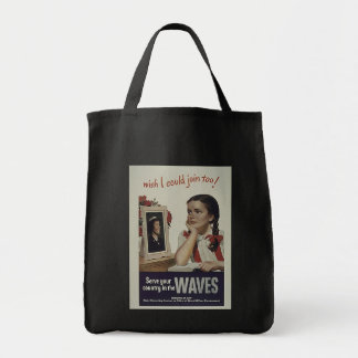 Vintage Waves Bag
