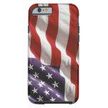 Vintage Waving US Flag iPhone 6 case Tough iPhone 6 Case