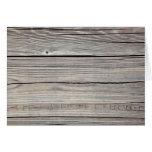 Vintage Weathered Wood Background - Old Board