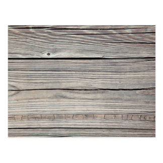 Vintage Weathered Wood Background - Old Board Postcard