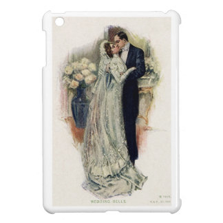 Vintage Wedding Bells Bride And Groom iPad Mini Cases