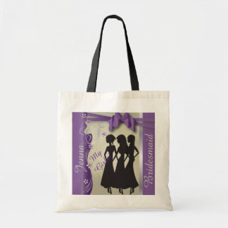Vintage Wedding Classy Design | Amethyst Purple Budget Tote Bag