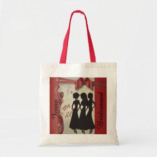 Vintage Wedding Classy Design    Garnet Red