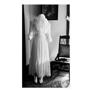 Vintage Wedding Dress & Shoes-Retro Dress~ Gown Business Card