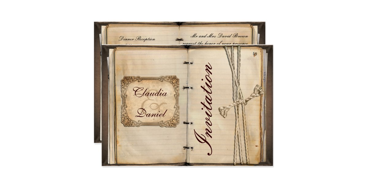 Wedding Invitation Cards Uk: Vintage Wedding Invitation Cards
