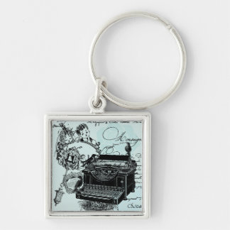 Vintage Wedding Love Letters Keychain