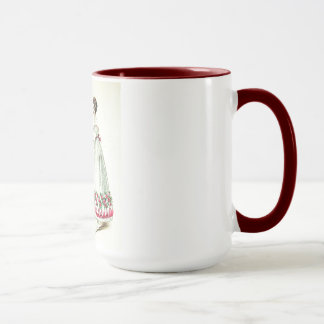 Vintage Wedding Mug