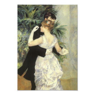 Vintage Wedding Response Card, City Dance, Renoir Card