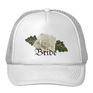 Vintage Wedding Rose Cap