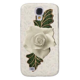Vintage Wedding Rose Galaxy S4 Case