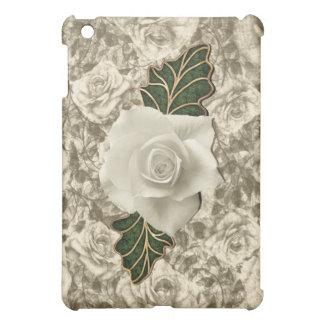 Vintage Wedding Rose iPad Mini Cover