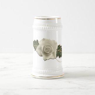 Vintage Wedding Rose Mug