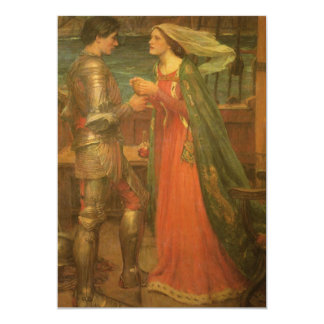 Vintage Wedding, Tristan and Isolde, Waterhouse Card