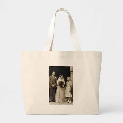 Vintage Weddings (7) Jumbo Tote Bag