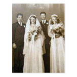 Vintage Weddings Post Cards