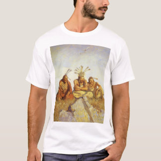 Vintage West, Guardians War or Peace by NC Wyeth T-Shirt