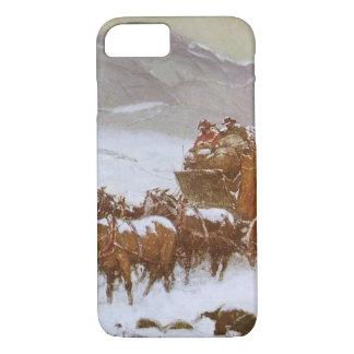 Vintage West, Why the Mail Was Late by Berninghaus iPhone 7 Case