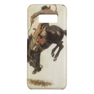 Vintage Western, Cowboy on a Bucking Bronco Horse Case-Mate Samsung Galaxy S8 Case