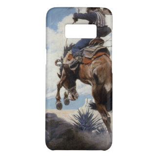 Vintage Western Cowboys, Bucking by NC Wyeth Case-Mate Samsung Galaxy S8 Case
