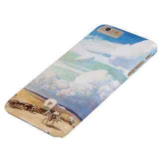Vintage Western Cowboys, Covered Wagons by Wyeth Barely There iPhone 6 Plus Case