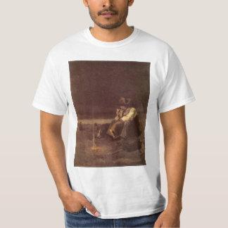 Vintage Western Cowboys, Plains Herder by NC Wyeth Tshirts