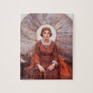 Vintage Western, Madonna of the Prairie by Koerner Puzzle